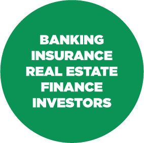 Banking insurance real estate finance investors